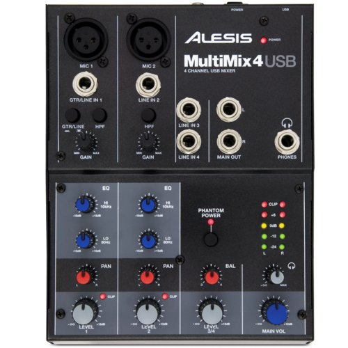 Микшерный пульт MultiMix4 USB