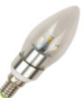 LED ����� 3W Candle SMD 3W E14 (WW) (TL10047)
