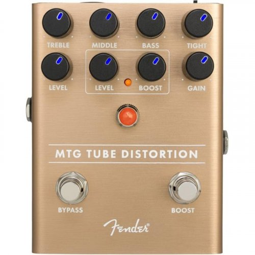 Педаль эффектов PEDAL MTG TUBE DISTORTION