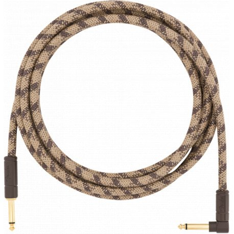 Кабель 18.6' ANGLED FESTIVAL INSTRUMENT CABLE PURE HEMP BROWN STRIPE