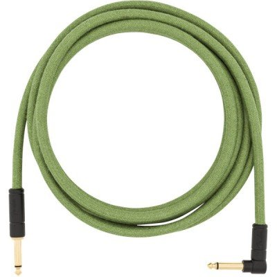 Кабель 18.6' ANGLED FESTIVAL INSTRUMENT CABLE PURE HEMP GREEN