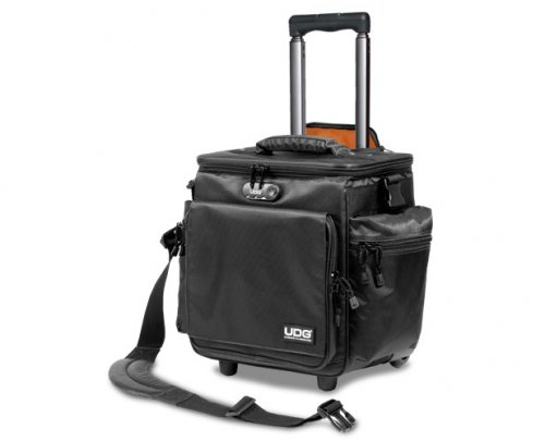 ����� UDG Ultimate SlingBag Trolley DeLuxe Black, Orange inside