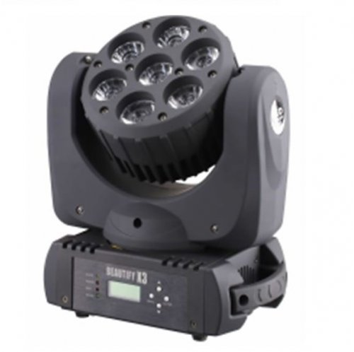 Светодиодная LED голова M-YL7-12 LED MOVING HEAD 7x12W
