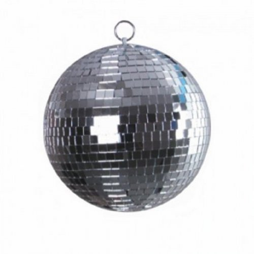 Зеркальный шар Mirror Ball Set 30cm with LED Spot Фото №4