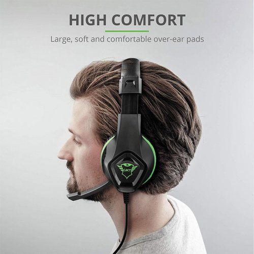 Гарнитура GXT 404G Rana Gaming Headset for Xbox One 3.5mm GREEN Фото №6