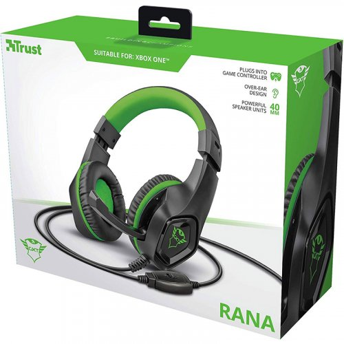 Гарнитура GXT 404G Rana Gaming Headset for Xbox One 3.5mm GREEN Фото №5